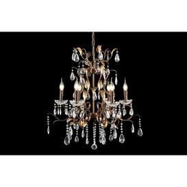 image-Aiken 6-Light Candle-Style Chandelier Astoria Grand