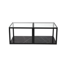 image-Liang & Eimil Tamon Coffee Table Black Marble (Set of Two)