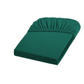 image-Comfort 26 Thread Count Fitted Sheet Fleuresse Colour: Hunting Green, Size: Double (4'6)