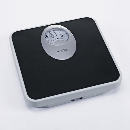 image-Terraillon T61 Mechanical Bathroom Scales Black