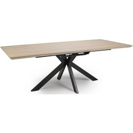 image-Manhattan Oak Extending Dining Table