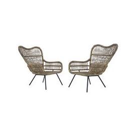 image-Kalausi Kubu Rattan Chair In Pair