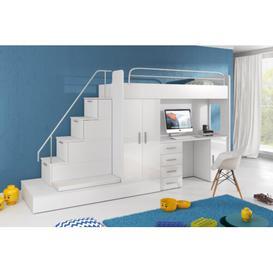 image-Murcia High Sleeper Bedroom Set Selsey Living
