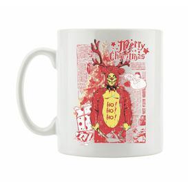 image-Christmas Reindeer Coffee Mug East Urban Home