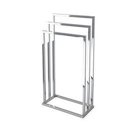 image-Lloyd Pascal 3-Rail Towel Stand With Rectangular Bas