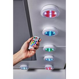 image-6-Piece Colour Changing LED Lights and Remote Control
