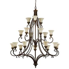 image-Pritzker 18-Light Shaded Chandelier Marlow Home Co.