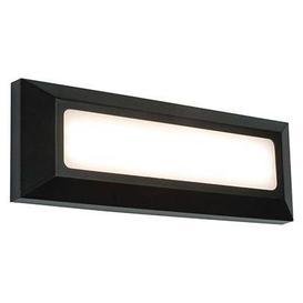 image-Severus landscape 3W LED direct guide light in black marine grade - ip65 - ik08 - 3000k - 180lm - 85465.