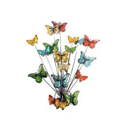 image-3D Butterfly Scene Metal Wall Décor Brambly Cottage