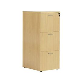 image-Proteus Wooden Filing Cabinet, Oak, Free Standard Delivery