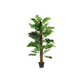 image-136.5cm Artificial Monstera Tree in Planter (Set of 2) Bay Isle Home
