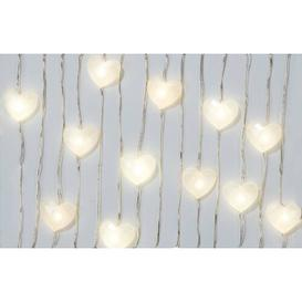 image-Modern Romance 30 Pearl Heart Shaped LED String Light (Set of 3) Talking Tables