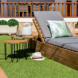 image-Solis Wooden Side Table Dakota Fields Size: H40 x W50 x L50cm