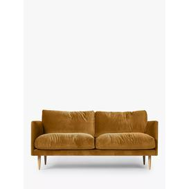 image-Swoon Luna Medium 2 Seater Sofa, Light Leg