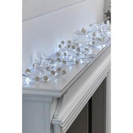 image-6ft LED Pearl Garland