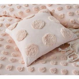 image-Pom Poms on Parade Cushion in Blush Pink (Medium)
