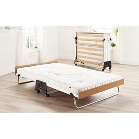 image-Jay-Be J-Bed Folding Bed with Anti-Allergy Micro e-Pocket Sprung Mattress, Single