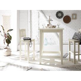 image-Catana 3 Piece Bar Table Set Massivum Colour: White