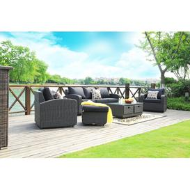image-6 Seater Rattan Sofa Set Sol 72 Outdoor