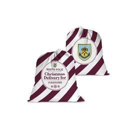 image-Personalised Burnley FC Christmas Delivery Santa Sack
