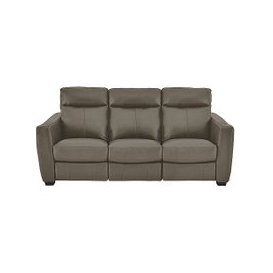 image-Compact Collection Midi 3 Seater Leather Sofa- World of Leather