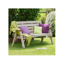 image-Abbey 3 Seater Garden Bench