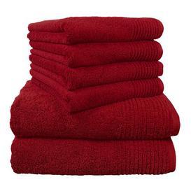 image-Brillant 6 Piece Towel Bale Dyckhoff Colour: Cherry