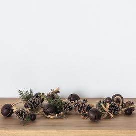 image-Rustic Christmas Garland