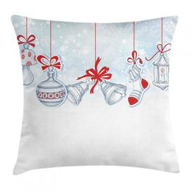 image-Agner Christmas Outdoor Cushion Cover Ebern Designs Size: 50cm H x 50cm W