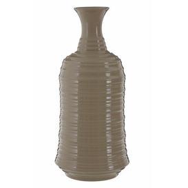 image-Brungardt Table Vase Bloomsbury Market Colour: Taupe, Size: Medium