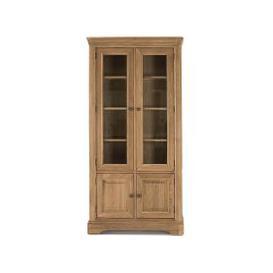 image-Vida Living Carmen Oak Display Cabinet