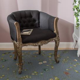 image-Galega Tub Chair Fleur De Lis Living