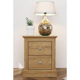 image-Devon 2 Drawer Bedside Cabinet
