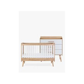 image-Silver Cross Westport Cotbed and Dresser, Natural/White