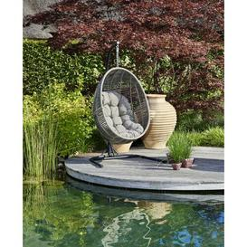image-Rodriguez Hanging Chair with Stand Bay Isle Home