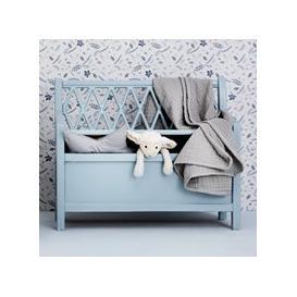 image-Cam Cam Copenhagen Harlequin Kids Storage Bench - Grey