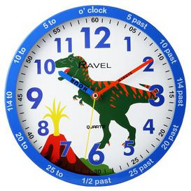 image-Children's Time Teacher 25cm Wall Clock Ravel