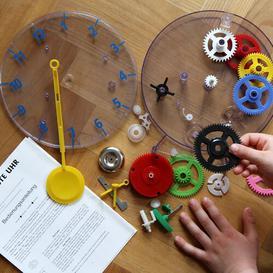 image-Quartz Kids Wall Clock Technoline