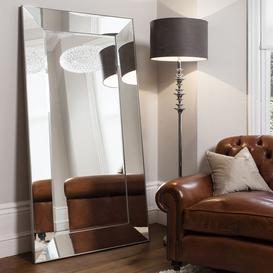 image-Gallery Direct Vasto Leaner Mirror - Silver