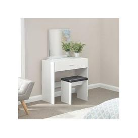 image-Ottawa Dressing Table Set In White