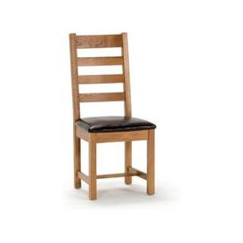 image-Ramore Ladder Back Wooden Dining Chair In Natural
