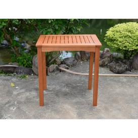 image-Rudloff Solid Wood Side Table Sol 72 Outdoor Size: 75cm H x 70cm L x 50cm W