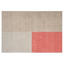 image-Piet Wool Rug 120x170cm , Coral