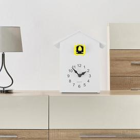 image-ZipCode Design Cuckoo Tabletop Clock Zipcode Design