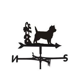 image-Cairn Dog Weathervane  - Large (Traditional)