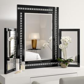 image-Kaniel Rectangular Dresser Mirror Rosdorf Park