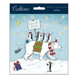 image-Woodmansterne North Pole Advent Calendar Card