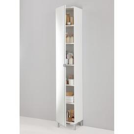 image-33.5x 195.5cm Free Standing Tall Bathroom Cabinet Brayden Studio
