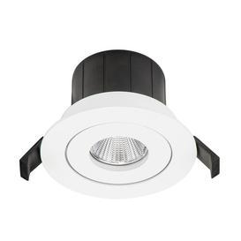 image-Étienne 10.5cm Recessed Lighting Kit Symple Stuff Colour: White