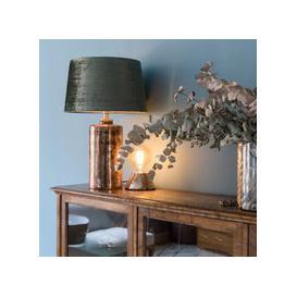 image-Aida Glass Table Lamp (Finish: Bronze/Brass)